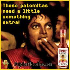 Palomitas con Tapatio