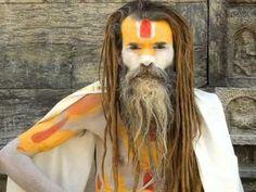 Tribute to the Sadhu, holy men.