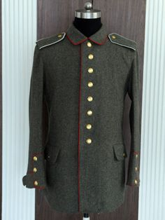 M1907/10 German World War I Feldrock with Brandenburg cuffs reproduction