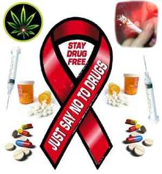 Just Say No Drugs Slogans | NOTE: This 'Stay Drug free'/ 'Just say no to drugs poster' has left ...
