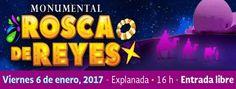 ¡Este viernes 6 de enero a las 16 h en la Explanada del CECUT!  Acompáñanos con tu familia a celebrar 30 años de la tradicional Monumental Rosca de Reyes alrededor del Domo IMAX.
