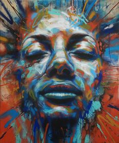 Unknown 2014 by David Walker SOLD Spray Paint on Canvas Signed Original  100cm x 120cm This is now out of stock. Call us for artist alternatives on 020 7240 7909 or email info@lawrencealkingallery.com  - See more at: http://www.lawrencealkingallery.com/artists/david-walker/work/unknown-2014#sthash.yQj1vhjx.dpuf
