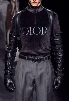 "a-state-of-bliss: ""Dior Menswear Fall/Wint 2019 "" Fashion Moda, High Fashion, Winter Fashion, Mens Fashion, Fashion Outfits, Guy Fashion, Queer Fashion, Couture Fashion, Runway Fashion"