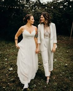 Lesbian marriage costume & go well with – Weddings Wedding Suits, Wedding Attire, Wedding Dresses, Marriage Dress, Lesbian Wedding, Camila, Bridal Looks, Wedding Inspiration, Wedding Ideas