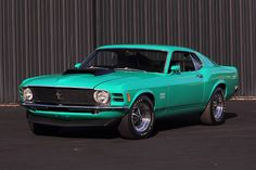 Diamonds may be a girl's best friend, but lovers of rare Ford Mustangs might be more inclined to emeralds, such as this rare pony car gem.  Built in 1970, this is one of the rarified Boss 429 Mustangs, of which only 1,356 were sold altogether and 499 that year. It packs Ford's thunderous 429ci V8 […]
