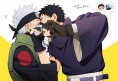 Naruto Kakashi, Anime Naruto, Naruto Comic, Naruto Shippuden Anime, Naruto Art, Boruto, Anime Chibi, Manga Anime, Otaku Anime