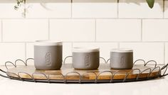 La Marzocco Handmade Ceramic Cups — Tools and Toys