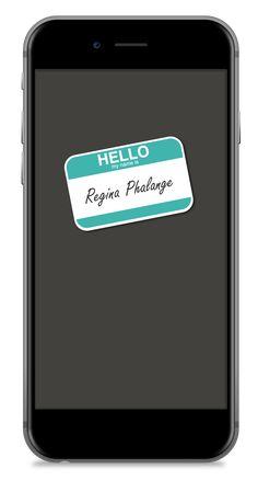 Regina Phalange (Wallpaper - Phone)
