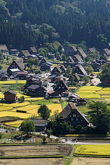 Shirakawa-go (白川郷). Shirakawa, Ono District, Gifu Prefecture
