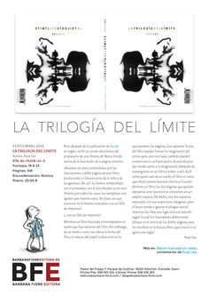 LA TRILOGÍA DEL LIMITE ISBN: 978-84-15208-44-0  /  Autora: Suzy Lee