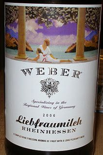 sweet white from Germany. Inexpensive, but tasty when wanting sweet.