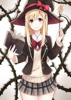 [Kawaii]Witch [Yamada-kun to no Majo] Anime Love, All Anime, Manga Anime, Anime Art, Witch Manga, Anime Witch, 7 Witches Anime, Image Zelda, Art Noir