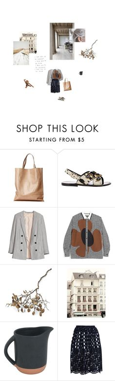 """""""Journeys & Destinations"""" by jemimap ❤ liked on Polyvore featuring London Edit, Marni, H&M, Crate and Barrel, Dollhouse and Lanvin"""