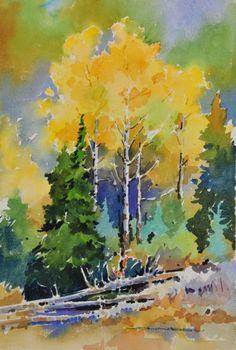 Autumn Clutter at Prairie de la Vache, Jasper by Gregg Johnson