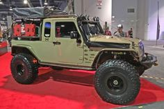 016 Sema Favorite Jeep Jk Overlander Rigid Industries Led Overall Photo 91648395