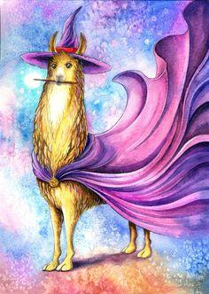 Llama magic.