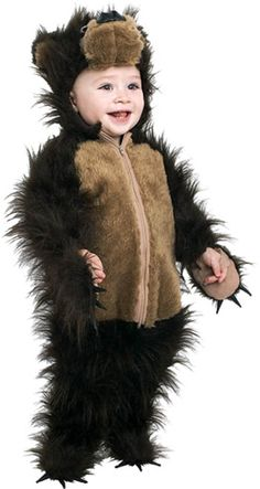 Bear Cub Costume from Brave  sc 1 st  Pinterest & Teddy Bear Plush Belly Toddler Costume Medium Color Brown #Teddy ...