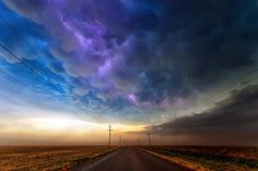 Lightning storm over Texas...