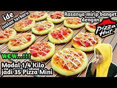IDE JUALAN    Modal 1/4 Kilo jadi 35 Pizza Mini - YouTube Lapis Surabaya, Food And Drink, Pizza, Tasty, Healthy Recipes, Snacks, Baking, Business Tips, Mini
