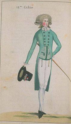 Journal de la Mode et du Gout, June 1791.