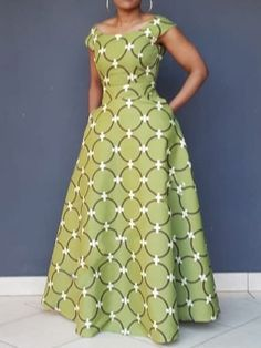 Ericdress Print Geometric Floor-Length Pullover High Waist Dress Source by toksetash fashion dresses African Fashion Ankara, Latest African Fashion Dresses, African Print Fashion, Long African Dresses, African Print Dresses, African Print Dress Designs, African Prints, African Fashion Traditional, Moda Afro