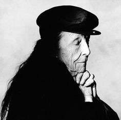 Louise Bourgeois by Irving Penn