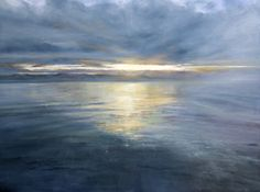 Fiona Haldane, Celestial Light, Tay Estuary, Pastel | Scottish Contemporary Art
