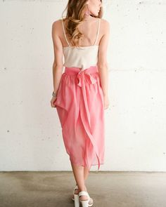 It's your last chance to shop our skirt du jour sale for 50% off this pink number - today only! #saledujour #shop #pink