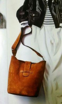 スウェード バッグ バッグスキン