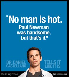 Dr. Danny Castellano | The Mindy Project - This show is seriously the break out show of the season, its sooo funny!
