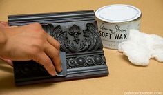 4 Chalk Paint Techniques for Carved Surfaces :: Hometalk