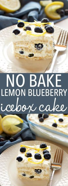 This No Bake Lemon B