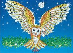 Sequin Art & Beads: Barn Owl