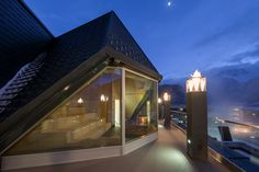 feuersauna Sauna, Mansions, House Styles, Home Decor, Fire, Decoration Home, Manor Houses, Room Decor, Villas