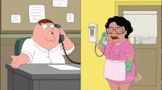 Best moments of Consuela from Family Guy. I promise there is nothing innappropriate about this video except how ratchet she be, lol. So funny!