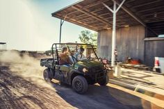"""New 2017 Kawasaki Mule PRO-DXâ""""¢ EPS Diesel ATVs For Sale in Ohio. The Mule PRO-DXâ""""¢ EPS is our powerful, most capable, full-size, three-passenger diesel Muleâ""""¢ Side x Side yet. This high-capacity diesel Mule has the largest steel cargo bed in its class so you can easily load a full-size wooden pallet (40 x 48 inches) and up to a 1,000-pound cargo bed capacity (600 lb. maximum cargo bed capacity for California models)then close the tailgate for transport. Powerful 993 cc, in-line…"""
