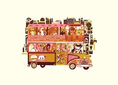 """Mobile Zoo"" - by Meg Hunt"