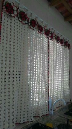 Image gallery – page 442197257161833404 – artofit Crochet Curtain Pattern, Crochet Doily Rug, Crochet Curtains, Crochet Quilt, Curtain Patterns, Lace Curtains, Crochet Tablecloth, Crochet Pillow, Curtain Designs