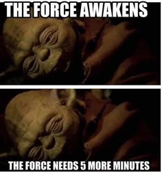 Haha! To all you fellow star wars fans!