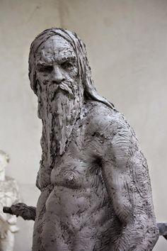 Christophe Charbonnel, 1967 | Figurative sculptor | Tutt'Art@ | Pittura * Scultura * Poesia * Musica |