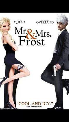 Le film de elsa et jack frost et sortie dans leur pays on espère bientot le voir dans la vrais vie !!!<3
