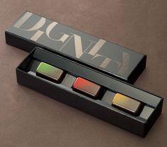 """帝国ホテルチョコレート Thaby this fab """"Dignity"""" candy #packaging is right up your alley PD"""
