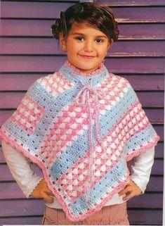 ponchos tejidos para niñas - Buscar con Google