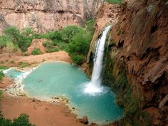 Havasu Falls.. I'm going here next time I'm in AZ!!