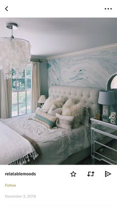 VSCO: lsulger - Great Home Decorations Cute Room Decor, Teen Room Decor, Room Ideas Bedroom, Bedroom Decor, Bedroom Inspo, Bedroom Themes, Bedroom Inspiration, Beachy Room, Aesthetic Room Decor