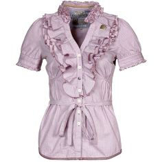 khujo BEGONIA II - Blouse - pink - Zalando.co.uk via Polyvore