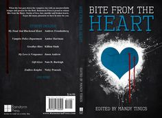 Full book cover jackets   Bite From The Heart (book cover)   eloise knapp design