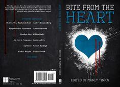 Full book cover jackets | Bite From The Heart (book cover) | eloise knapp design