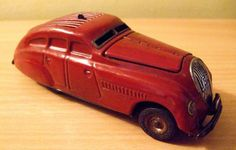 VINTAGE SCHUCO KOMMANDO ANNO 2000 TINPLATE CLOCKWORK 1940'S CAR in Toys & Games, Vintage & Classic Toys, Clockwork/ Wind-Up | eBay