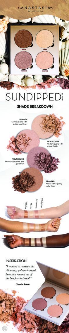 Makeup Tips - Makeup Goals, Love Makeup, Makeup Tips, Highlighter Makeup, Skin Makeup, Bronzer, Beauty Make Up, Hair Beauty, Anastasia Beverly Hills Glow Kit